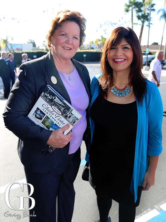 Mayor Cheryl Cox and Ana Melgoza