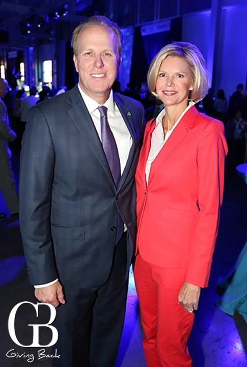 Mayor Kevin Faulconer and Katherine Stuart Faulconer