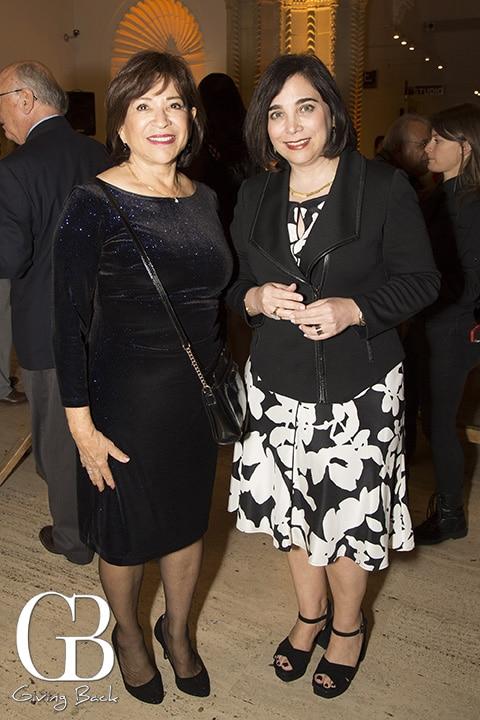 Mayor Mary Casillas Salas and Roxana Velasquez