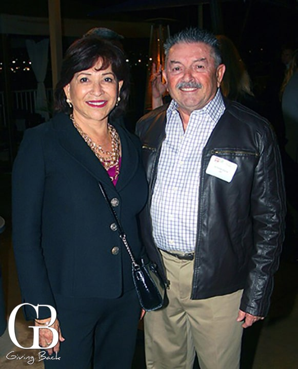 Mayor Mary Salas and Ricardo Osuna