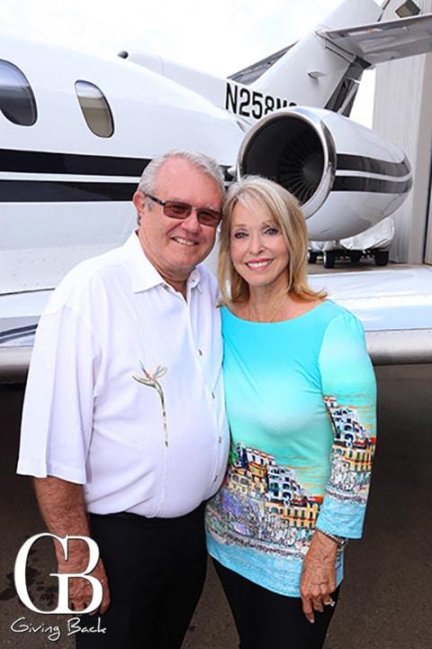 Mayor Matt Hall and Phyllis Hall