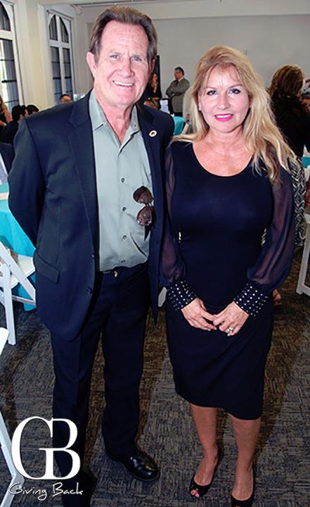 Mayor Ron Morrison and Josie Flores Clark