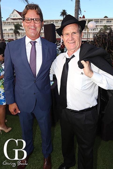 Mayor of Imperial Beach Serge Dedina and Mayor of National City Ron Morrison
