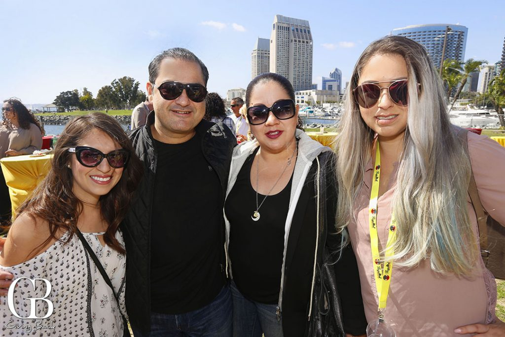 Mayra Vasquez  Luis and Monica Montano and Vanesa Leiva