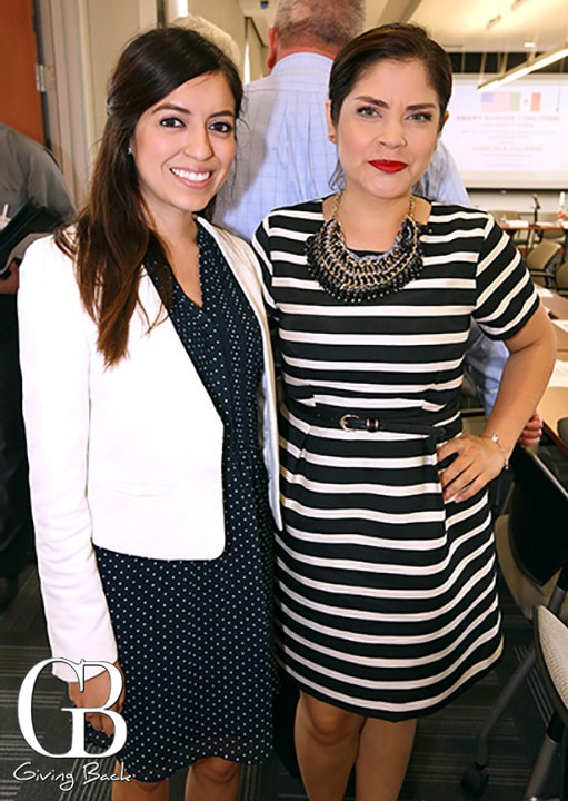 Mayra Vasquez and Carolina Chavez