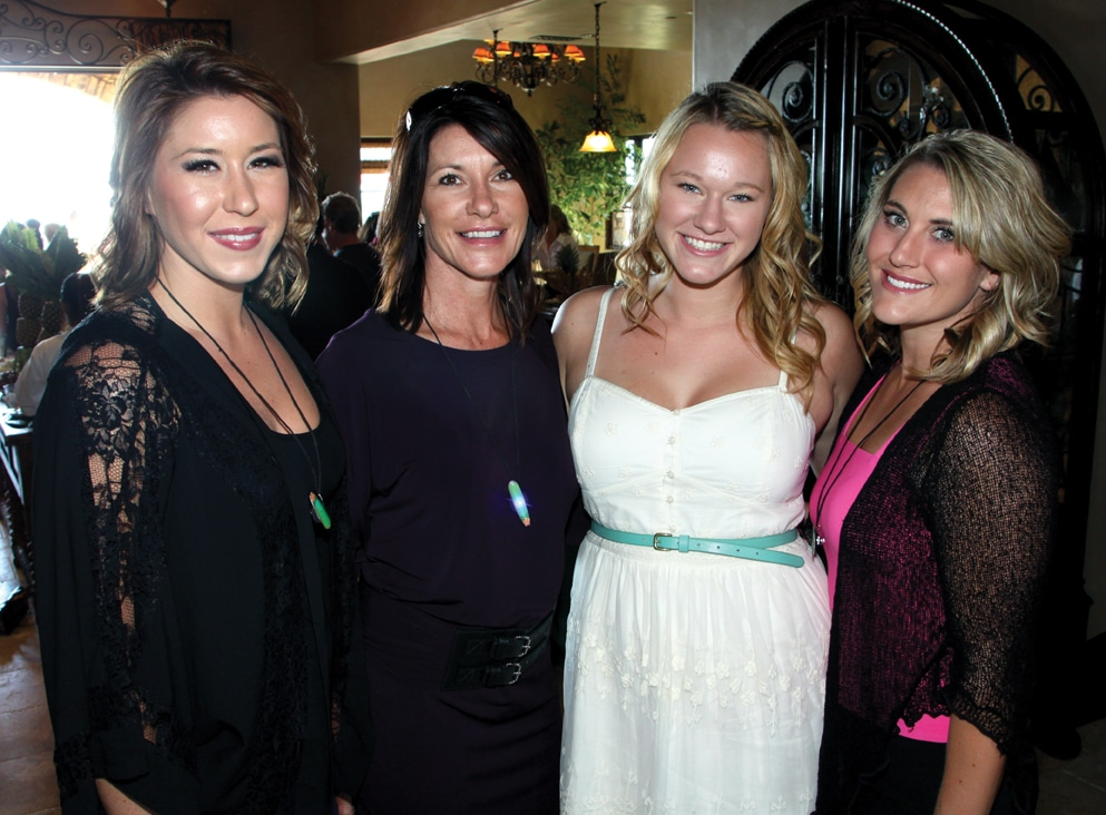 Megan, Nicole and Katie Peterson with Elyse Fontana.JPG