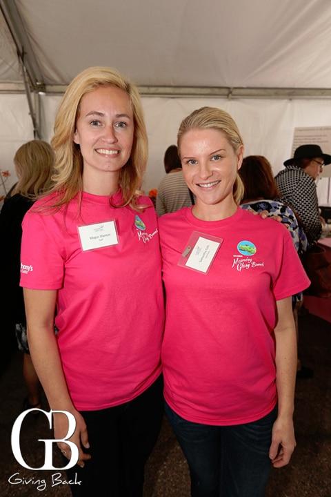 Megan Blanton and Samantha Toth