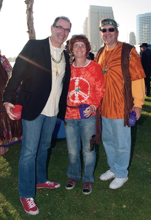 Mel Katz with Jackie and John Schierer