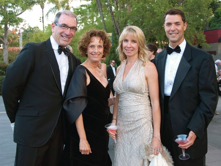 Mel and Linda Katz with Carol and Ed Hidalgo