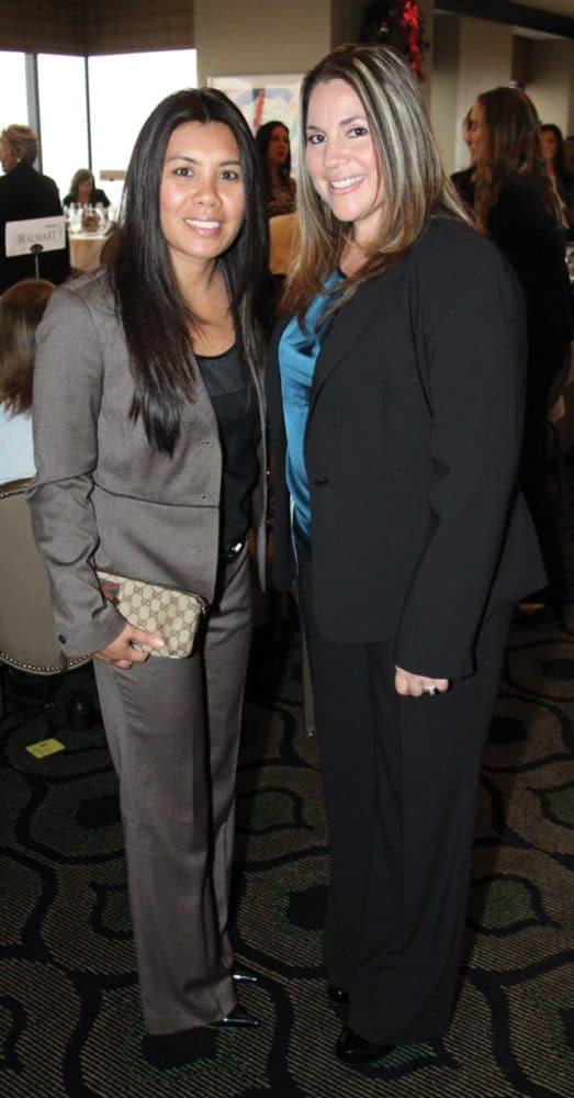 Melanie Torga and Miriam Williams.JPG