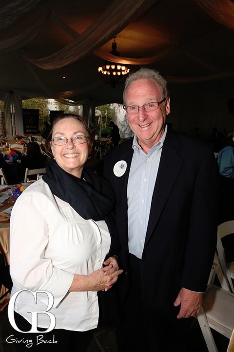 Melanie Elsworth and Jeff Brown