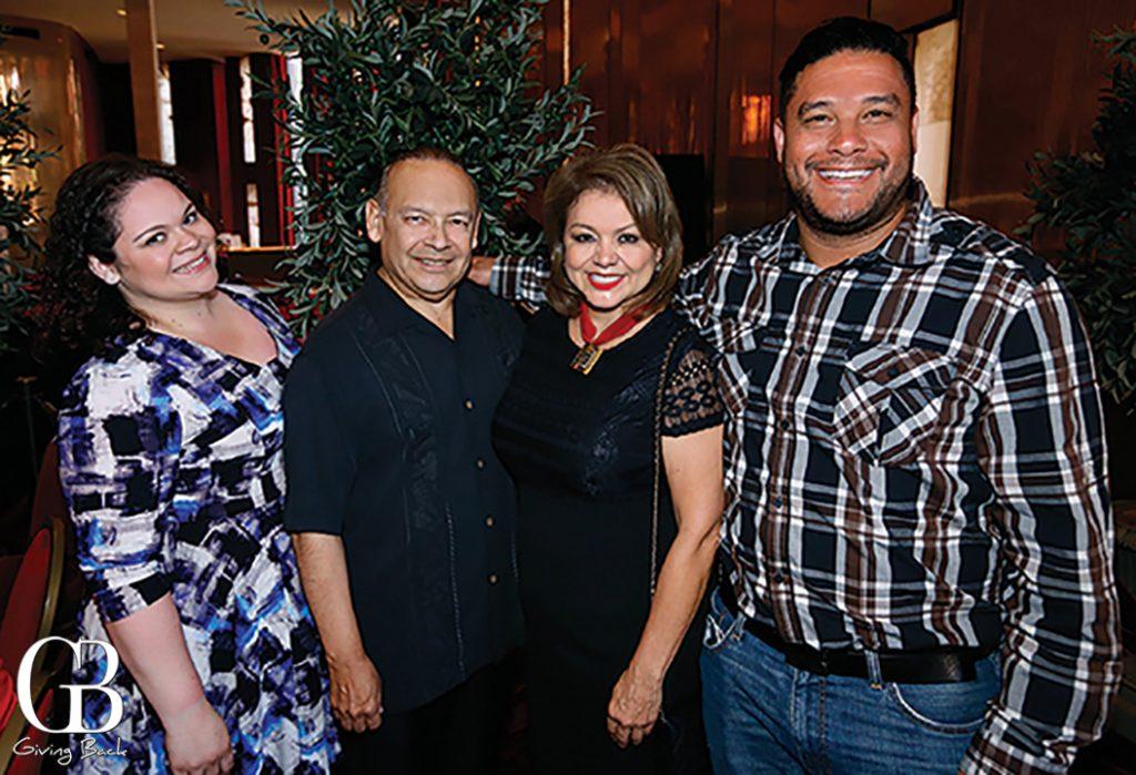 Melina Martinez  Ted Martinez Jr.  Lidia S. Martinez and Fernando Daiello