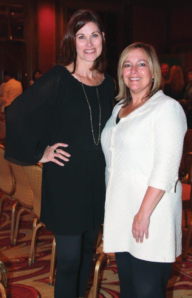 Melissa Braun and Dana Townsend