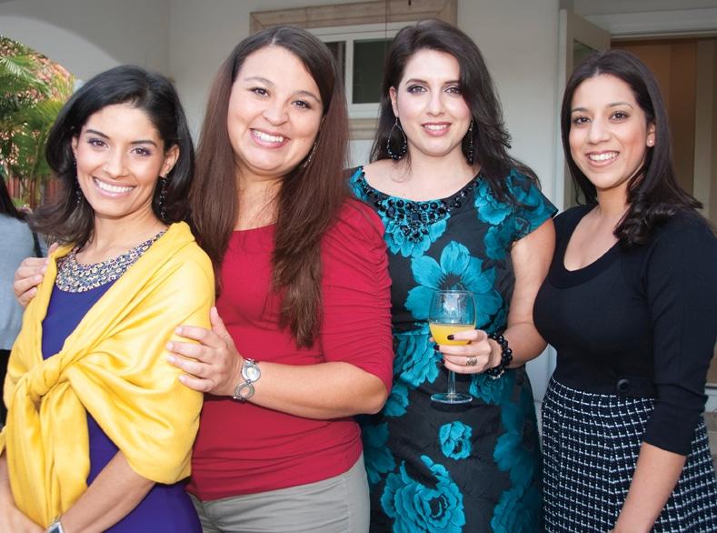 Melissa Parra, Lupita Cox, Selena Capreo and Melissa Gutierrez