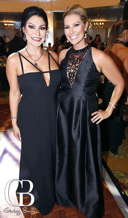 Melissa Meza and Chantelle Scolastico