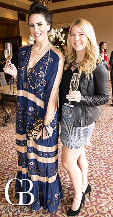 Melissa Peirce and Anna Sosinsky