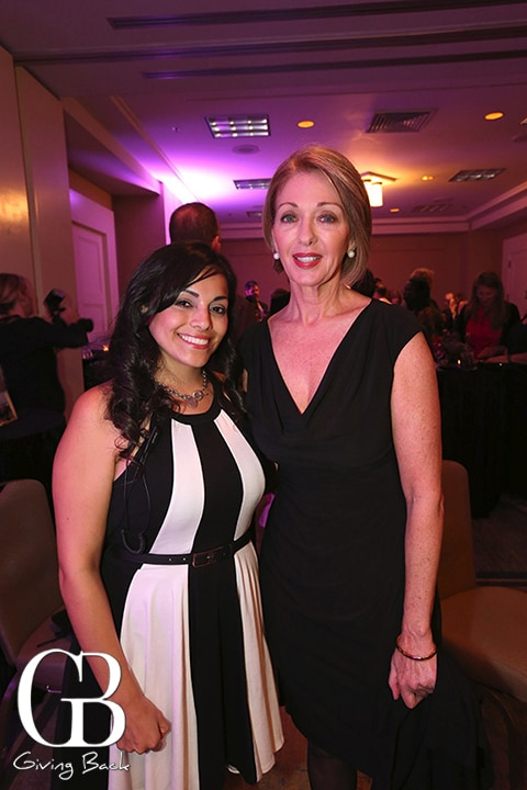 Melissa Villagomez and Michelle Jackson