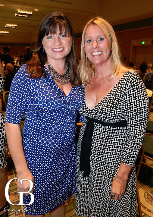 Meredith Martineau and Stacey Seeburger