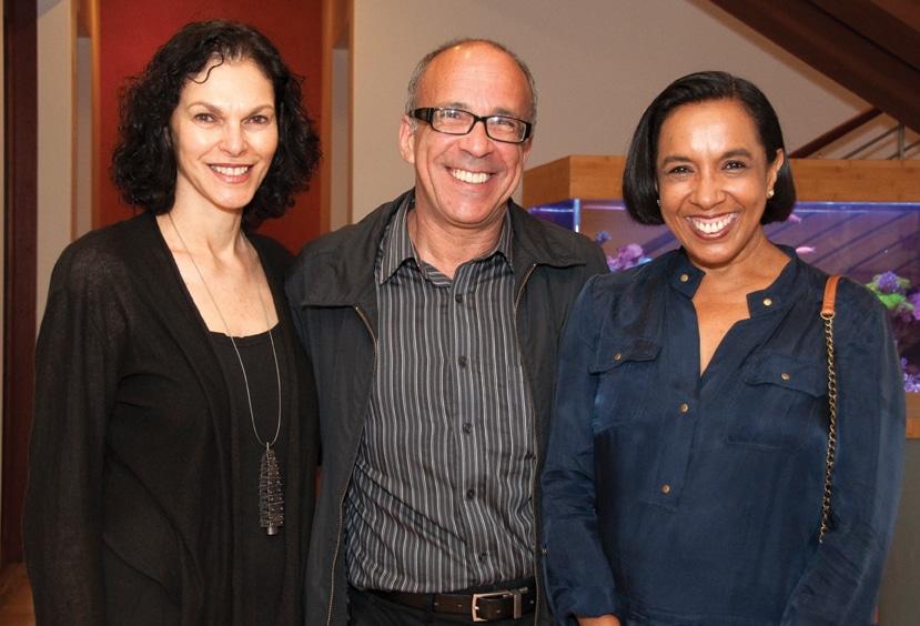 Merle and Sandy Kovtun with Ria Roberts.JPG