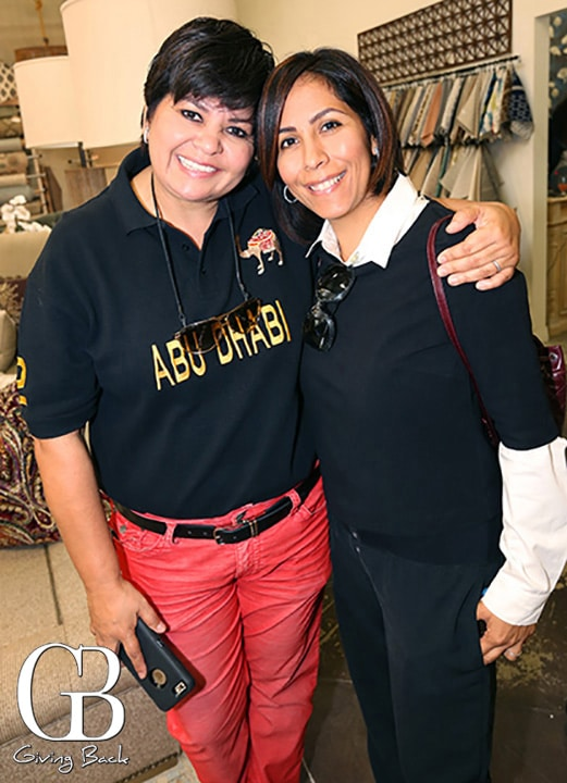 Micaela Polanco and Luisa McCarthy