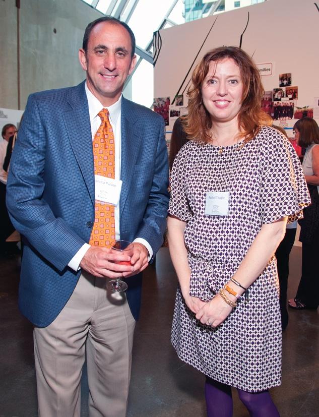 Micah Parzen and Rachel Teagle