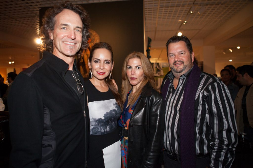 Michael and Leticia Derr with Ana Claudia Trevino and David Rhoads