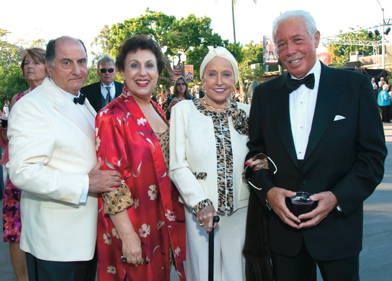 Michael and Margaret Raya with Louise and Paul Diamico