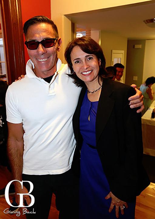 Michael Christian and Rebecca Perez