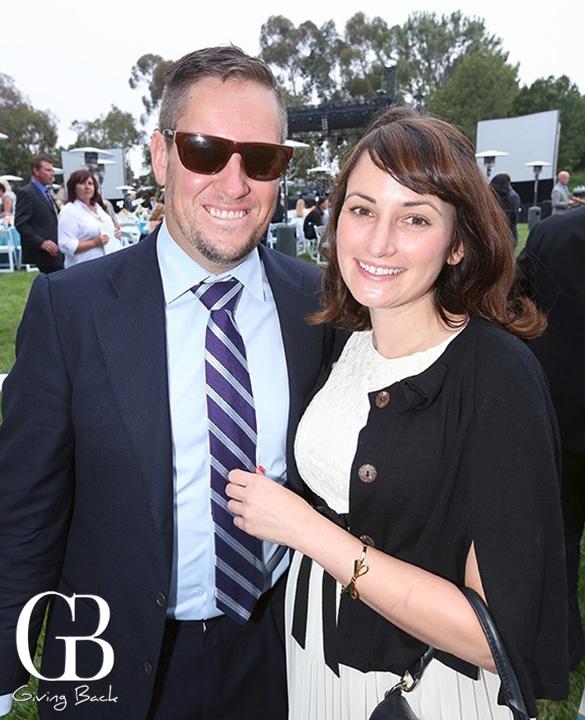 Michael Esposito and Rachel Helmer