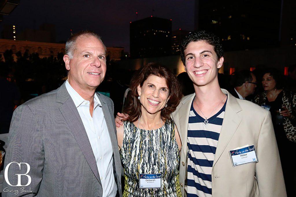 Michael Hopkins  Deborah Bucksbaum and Miller Saltzman