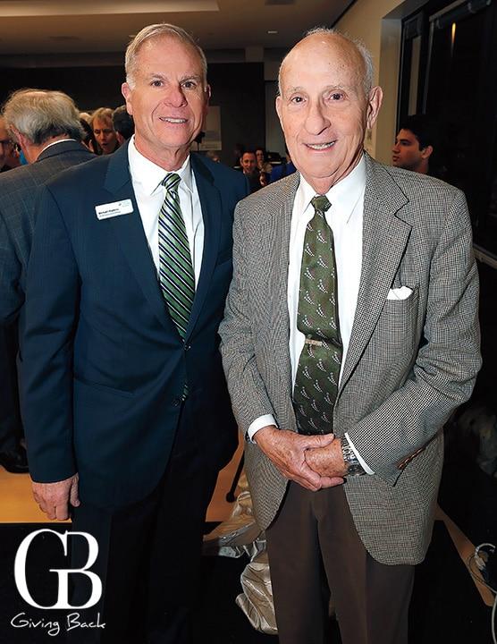 Michael Hopkins and Ernest Rady