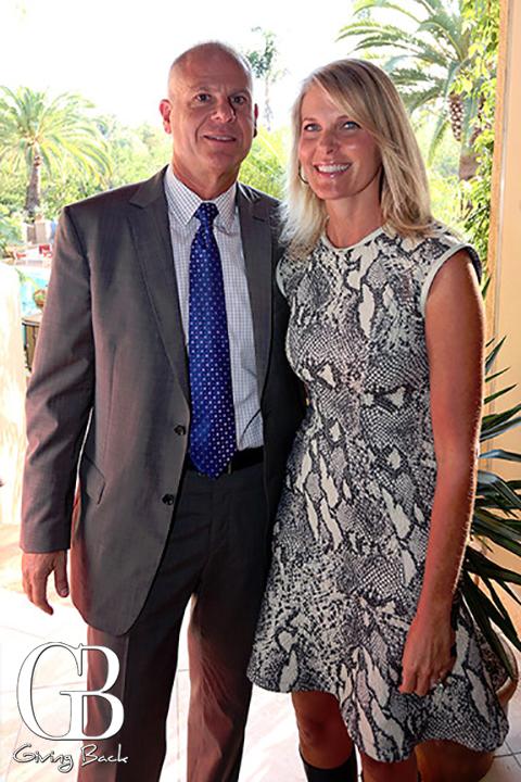 Michael Hopkins and Jennifer Levitt