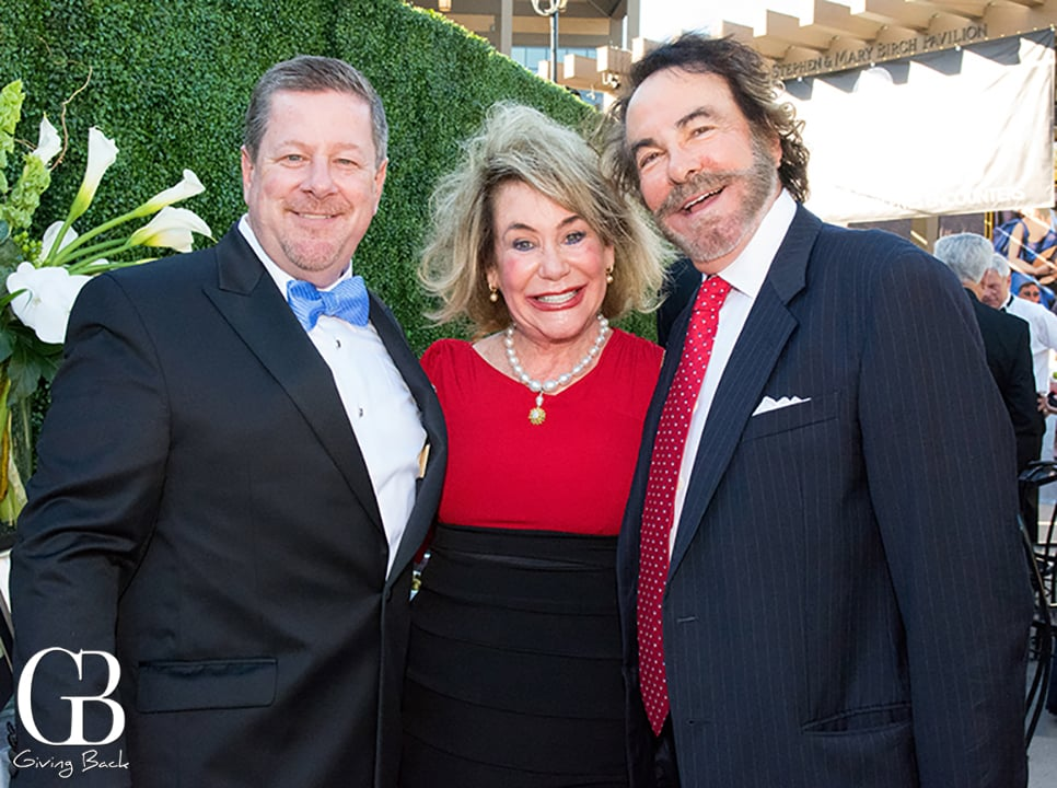 Michael Murphy with Barbara and Howard Milstein