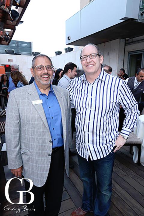 Michael Sonduck and Brian Miller
