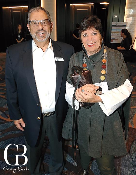 Michael Sonduck and Sharon Gabriel