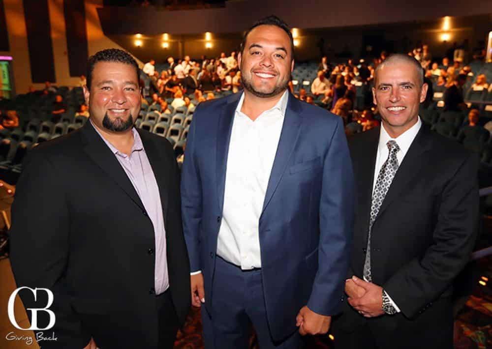 Michael Worrell Jr.  Cody Martinez and John Nunez