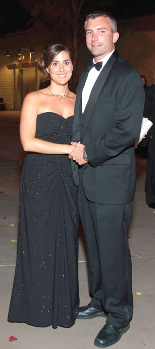 Michelle Karidis and Scott Slocum