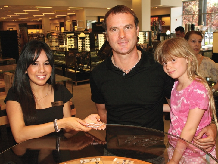 Michelle Nunez with Phil Walker and Jasmine.JPG