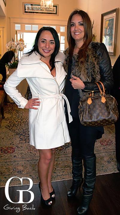 Michelle Baranai and Mayra Calva