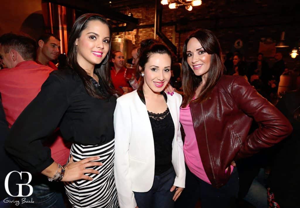 Michelle Escalante  Janet Coronel y Evelyne Rodriguez