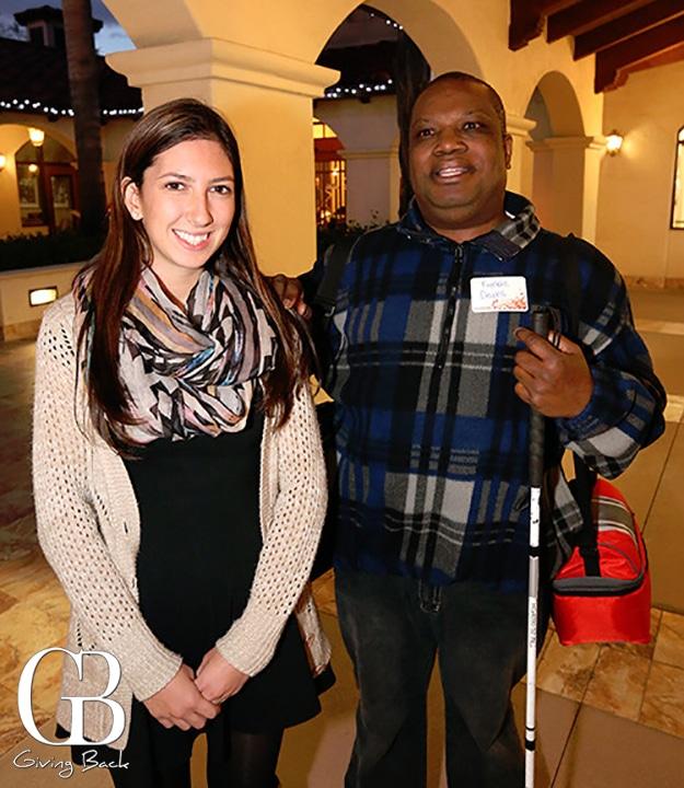 Michelle Manibusan and Freddie Downs