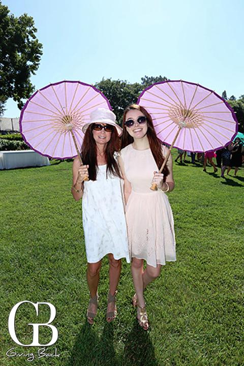 Michelle Pius and Natalie Pius