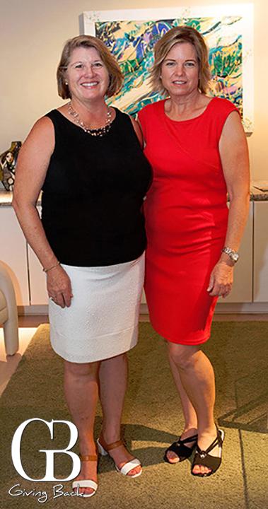 Michelle Serafini and Rebecca Ochoa