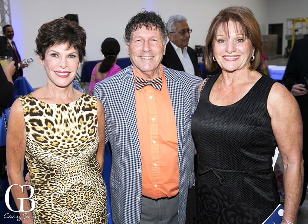 Micki Schneider  Rich Wise and Adeline Navarra
