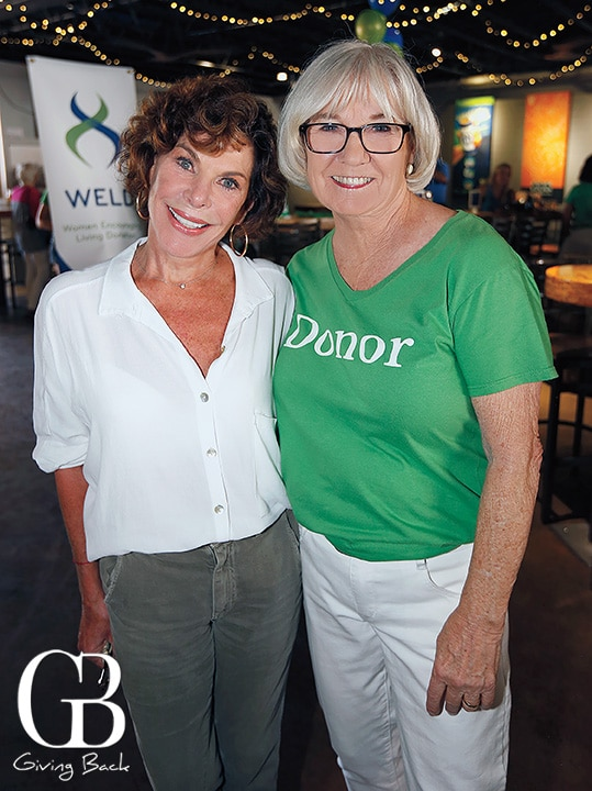 Micki Schneider and Diane Brockington