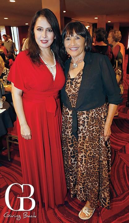 Migdalia Rivera and Ludvina Nevarez