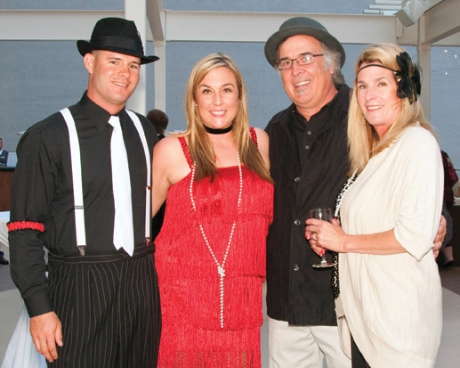 Mike Donoghue with Erin, Rich and Liz McGill