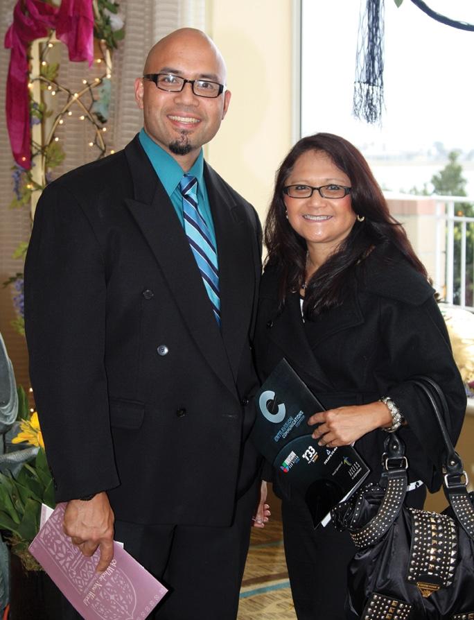 Mike and Gloria Albaran