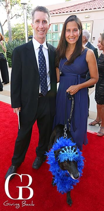 Mike Erlanson and Dana Ryan with Natasha