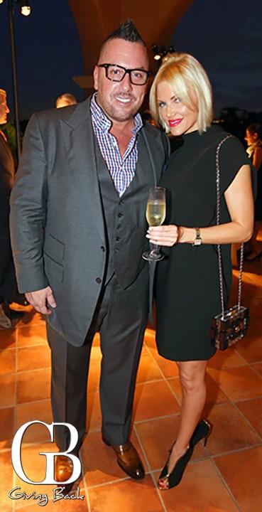 Mike Ibe and Julia Benot